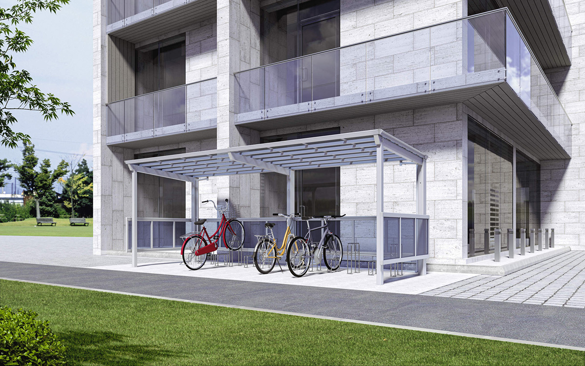 自転車置き場|株式会社イズミ